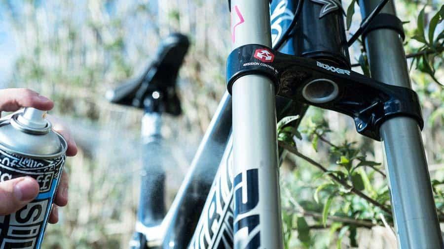 suspension kit bike maintenance