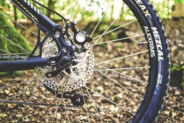 Black Mountain Bike Deraileur
